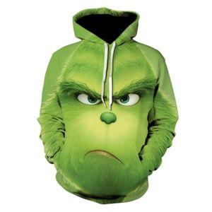 Hot pullover full face mens hoodies 3D hoodie men